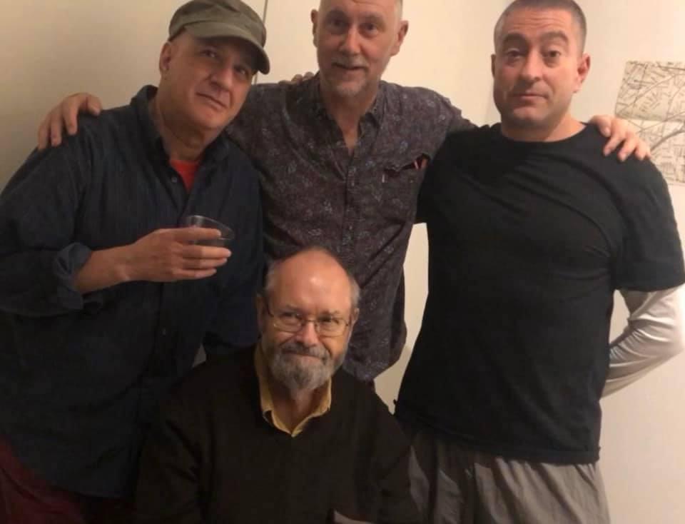 David first, Phill Niblock, David Watson, Iliya Fridman.